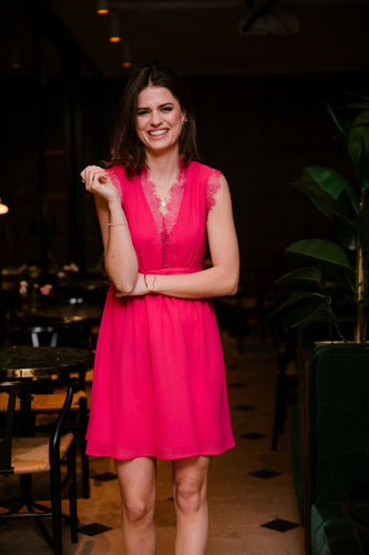 Ada Rowe Dresses Bonnie Dress in Pink