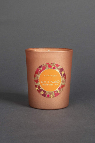 Max Benjamin Candles One Size Boulevard de Feuilles D'Or  Scented Candle