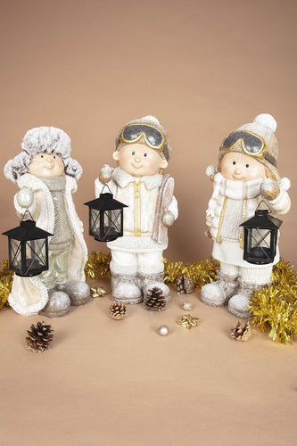 Carraig Donn HOME Christmas Ornaments Boy with Lantern