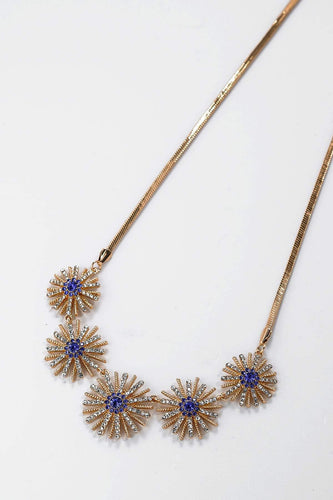 Soul Jewellery Necklaces Bronze Diamante Flower Necklace- SOUL Special