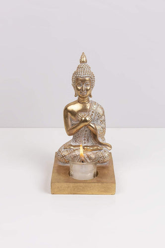 Carraig Donn HOME Ornaments Buddha with T-Light Ornament