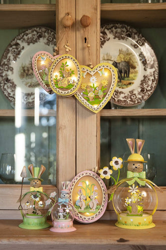 Carraig Donn HOME Easter Decorations Bunny Globe in Green