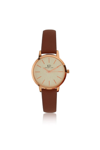 Knight & Day Watches Rose Gold Cambrid Watch