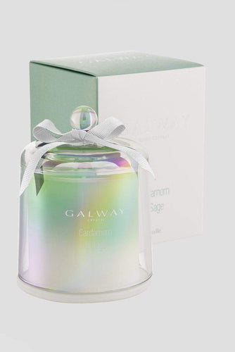 Galway Crystal Christmas Candles & Diffusers Cardamom & Sage Candle
