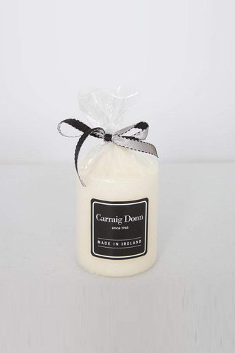 Carraig Donn Home Candles Carraig Donn Pillar Candle 85 x 63mm in Ivory