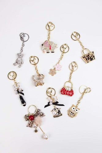 Carraig Donn Living Keyrings Cat Keyring