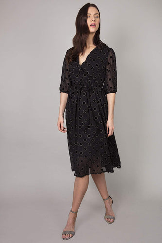 Ada Rowe Dresses Black / S / Midi Catriona Dress