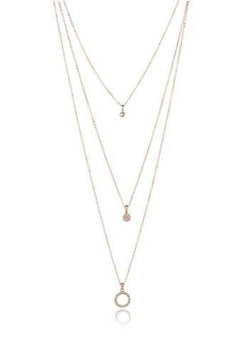 Knight & Day Necklaces Rose Gold Cheyanne Necklace