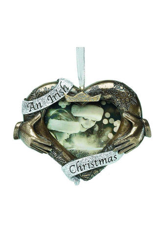 Genesis Christmas Photo Frames Christmas Claddagh Tree Decoration