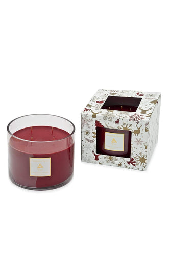 Torc Candles Candles Cinnamon Spice 4 Wick Centrepiece