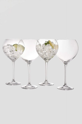 Galway Crystal Glasses Clarity Goblet Set of 4