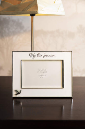 Carraig Donn Living Photo Frame Confirmation Silver Frame 6x4