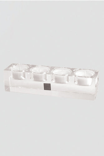 Tipperary Crystal Gift Candles Connoisseur 4 T-Light Tray