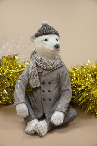 Carraig Donn HOME - Christmas Christmas Ornaments Cool Bear Sitting