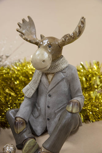 Carraig Donn HOME - Christmas Christmas Ornaments Cool Reindeer Sitting