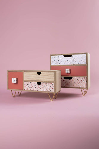 Carraig Donn HOME Storage Counter Top 3 Drawer Unit