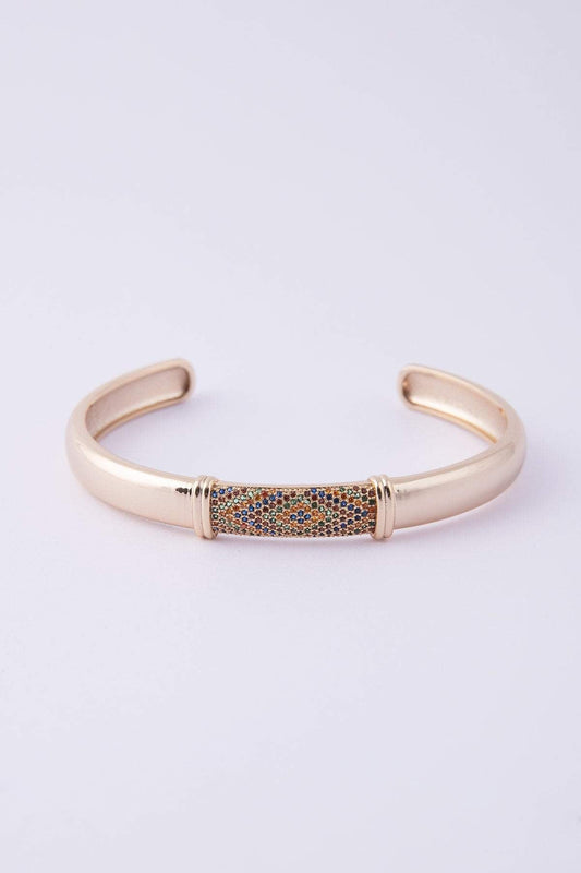 Knight & Day Bracelets Gold Dalia Bangle