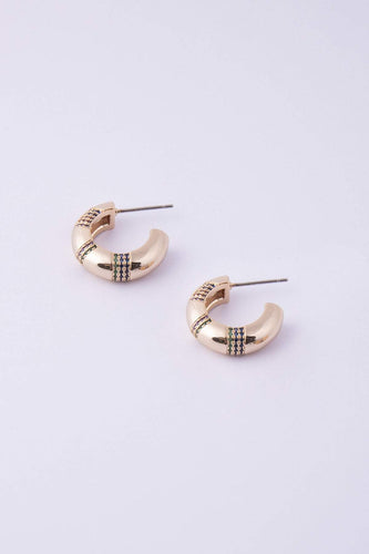 Knight & Day Earrings Gold Dalia Earrings