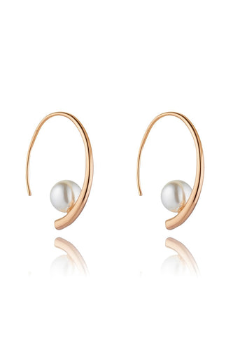 Knight & Day Earrings Rose Gold Danika Rose Gold Earrings