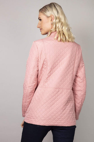 Voulez Vous Jackets Diamond Embossed Jacket in Soft Pink