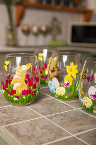 Carraig Donn HOME - Christmas Easter Tableware Easter Set of 4 Tumblers