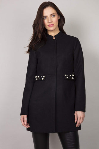 Rowen Avenue Jackets Embellished Jacket in Black