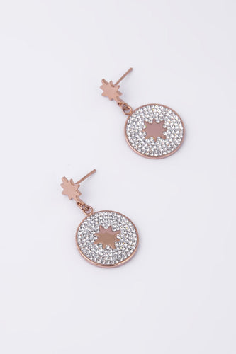 Knight & Day Necklaces Rose Gold Esme Rose Gold Earrings