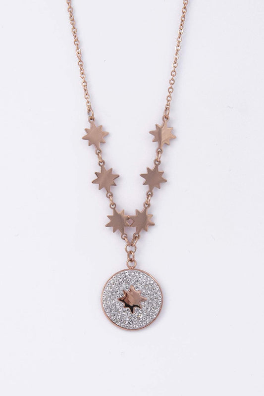 Knight & Day Necklaces Rose Gold Esme Rose Gold Necklace