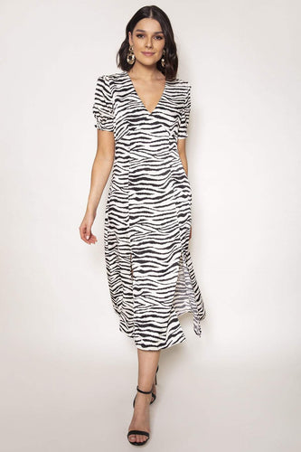 Ada Rowe Dresses Animal / S / Midi Felicity Dress