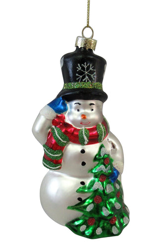 Carraig Donn HOME - Christmas Christmas Tree Decorations Festive Charm Snowman