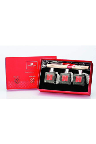 Newgrange Christmas Candles & Diffusers Festive Mini Set of 3 Diffusers