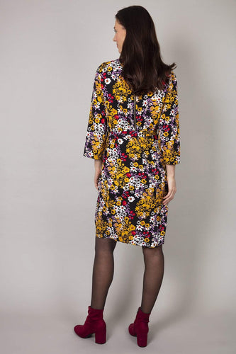 Rowen Avenue Dresses Floral Dress in Black