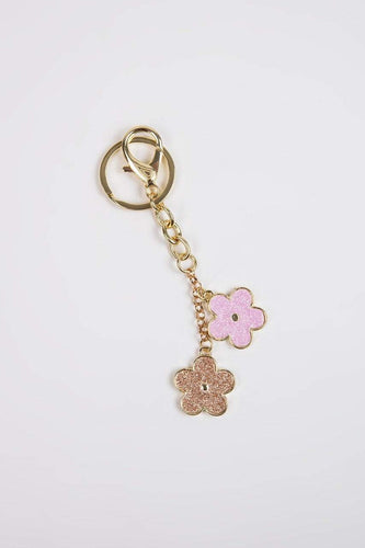 Carraig Donn Living Keyrings Flower Keyring