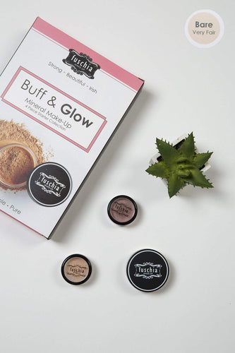 Fuschia Foundations Foundations - Buff & Glow Mineral Kit Bare