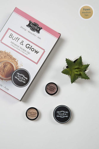 Fuschia Foundations Foundations - Buff & Glow Mineral Kit Fawn