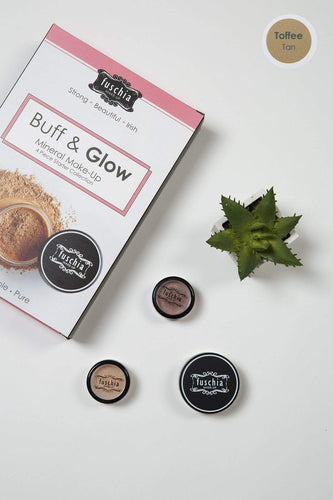 Fuschia Foundations Foundations - Buff & Glow Mineral Kit Toffee