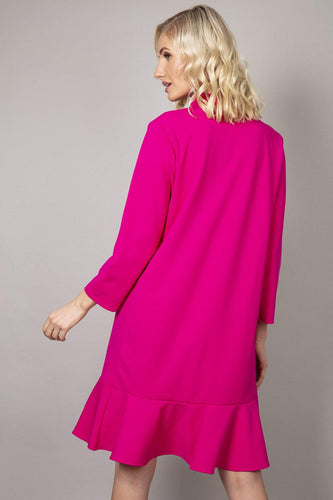 Pala D'oro Dresses Frill Dress in Pink