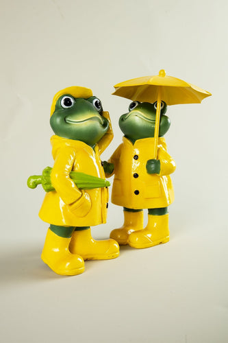 Carraig Donn HOME Ornaments Frog under Umbrella