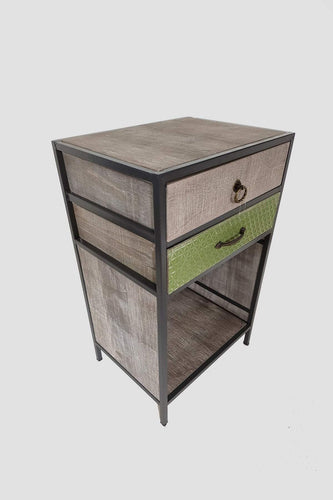 Carraig Donn HOME Drawers Multi Geo Vintage Side Table