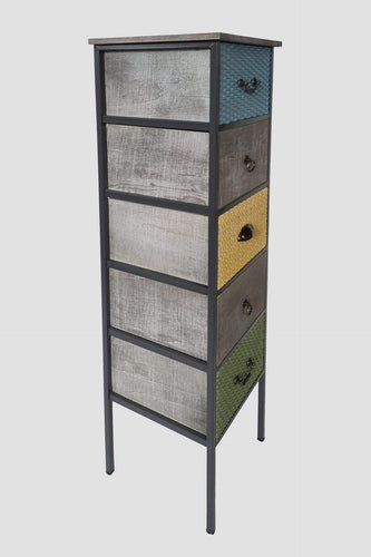 Carraig Donn HOME Drawers Multi Geo Vintage Tower