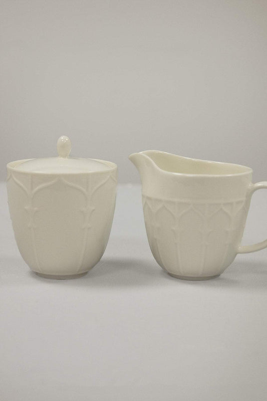 Belleek Cream & Sugar Set Georgian Doors Sugar & Cream Set
