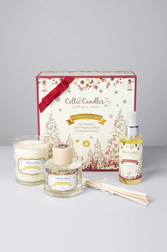 Celtic Candles Gift Sets Gift Set Cinnamon & Winter Berries