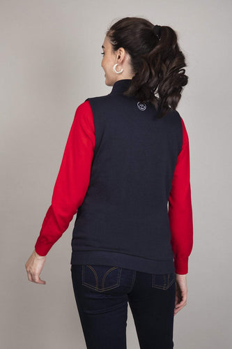 Kelly & Grace Weekend Jumpers Gilet in Navy
