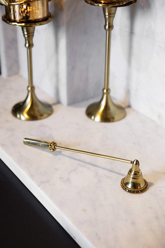 Atticus & Stone Christmas Lighting Gold Candle Snuffer