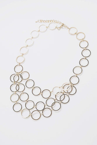 Soul Jewellery Necklaces Gold Gold Circle Necklace
