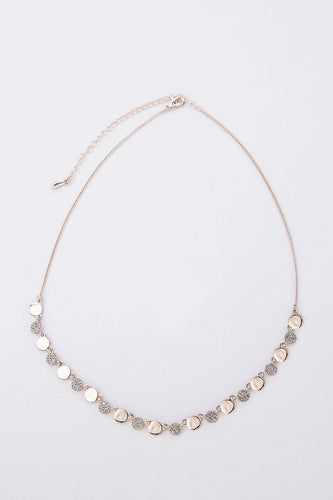 Soul Jewellery Necklaces Champagne Gold & Diamante Necklace