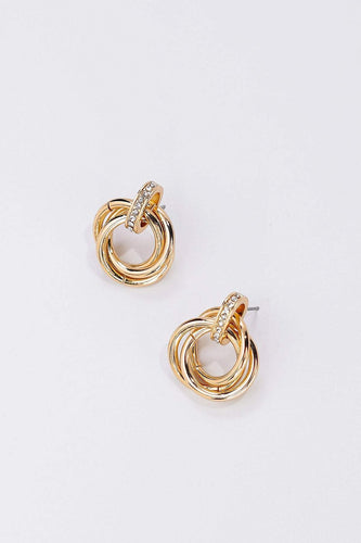 Soul Jewellery Earrings Gold Gold Twist Earrings