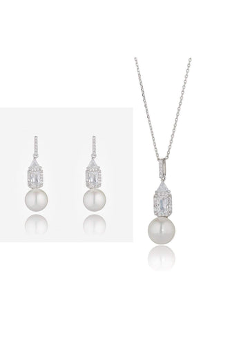 Knight & Day Jewellery Sets Silver Greta Necklace & Earring Set