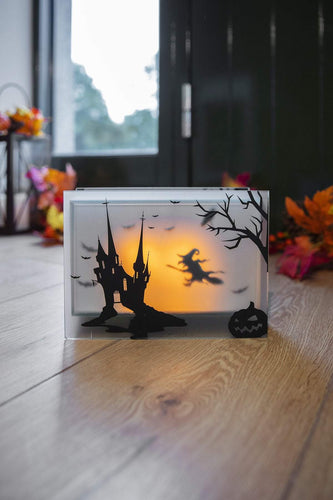 Carraig Donn HOME Halloween Lighting Halloween Flicker Black Rectangle