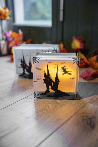 Carraig Donn HOME Halloween Lighting Halloween Flicker Black Square
